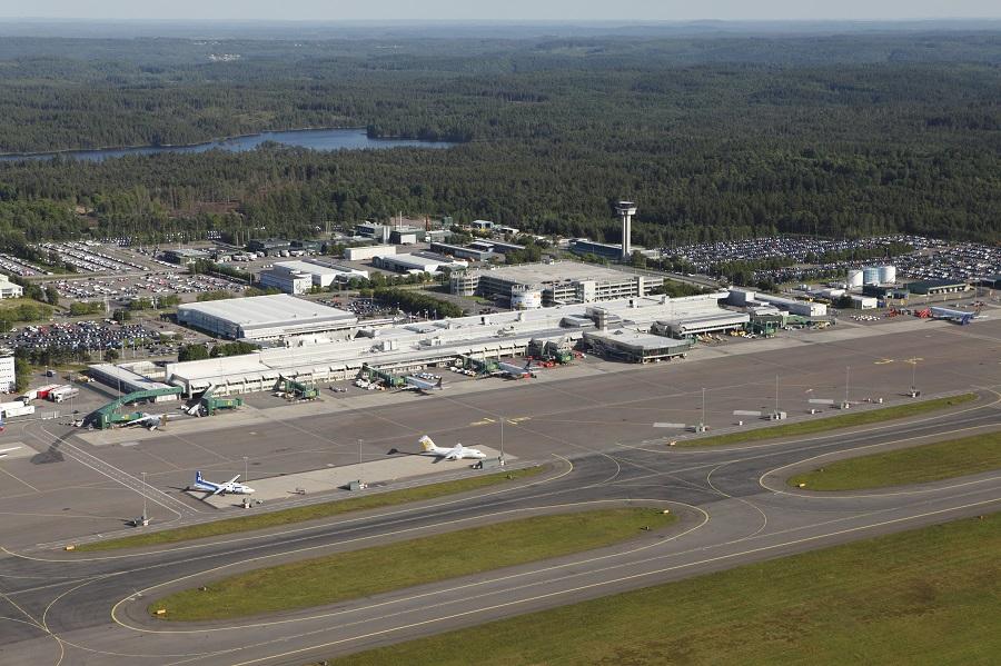 Landvetter flygplats i Göteborg